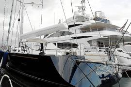 La Guardia Civil abordó el velero del presidente de Volvo en Menorca