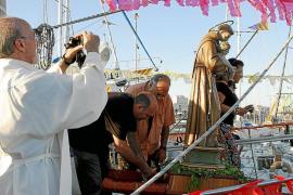Procesión marinera en Can Pastilla