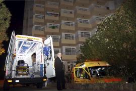 Muere un alemán tras caer de un balcón del cuarto piso de un hotel de Platja de Palma