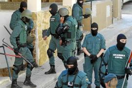 Los narcos de s'Arenal tenían perros de presa dentro de la casa para vigilar la droga