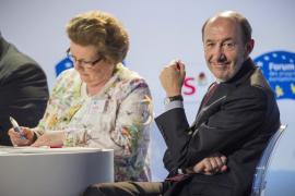 Rubalcaba insta a ser austeros de «manera inteligente» para  incentivar el crecimiento y la creación de empleo
