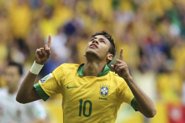 Neymar encarrila un cómodo triunfo de Brasil sobre Japón