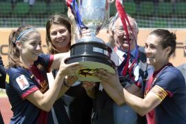El F.C. Barcelona, con dos mallorquinas, gana la Copa de la Reina