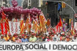CCOO, UGT y USO ponen fin a cuatro días de protestas contra la política de UE