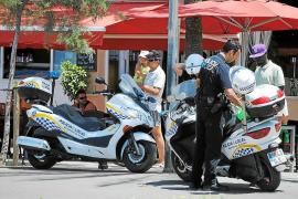 Contabilizados más de 420 vendedores ambulantes ilegales en Platja de Palma