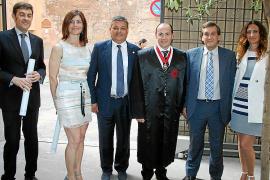 Entrega de medallas en el Colegio de Abogados de Balears