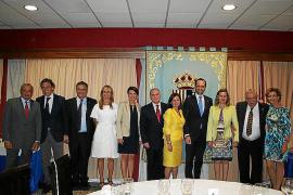 Cena de despedida del comandante Adolfo Orozco en el Club Militar es Fortí.