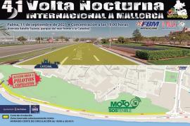 Cortes de tráfico este sábado en Palma por una carrera de motos
