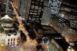 La protesta de los 'indignados' de Brasil se extiende por todo el país