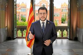Mensaje institucional de Pere Aragonés