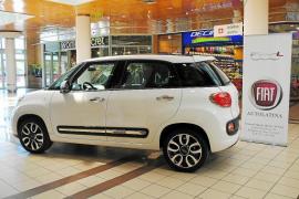 Autolatina acercará el Fiat 500L