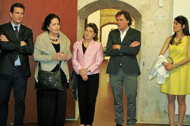 Inauguración del Centre d'Art i Creació en ses Voltes de Palma.