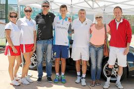 Los ganadores del I Torneo Porsche - Ultima Hora de pádel