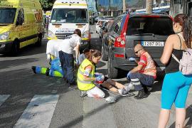 Un ciclista herido grave tras ser arrollado por un coche cerca de Portopí