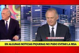 El truco de Pedro Piqueras para no reírse en directo