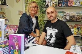 Las obras de Montse García y Hazael González triunfan en la Feria del Libro