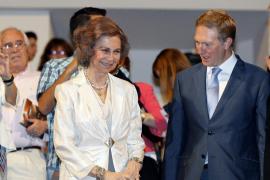 Abucheos a la reina por parte de algunos asistentes en el Auditorio Nacional