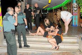Hospitalizada una joven británica tras ser arrollada por un coche en Punta Ballena