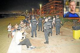 Acude a la policía un «testigo clave» de la agresión mortal en la Platja de Palma