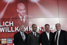 """Guardiola: """"Es un regalo que el Bayern haya pensado en mí"""""""