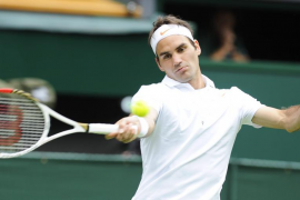 Brillante estreno de Federer ante el rumano Victor Hanescu