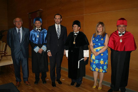 Llorenç Huguet, rector de la Universitat