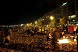 La nit de Sant Joan dejó 11 toneladas de residuos en Palma