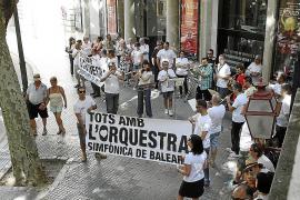 Las instituciones plantean recortar un 20% las cuentas de la Simfònica