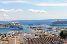 Cuatro cruceros coinciden en Palma