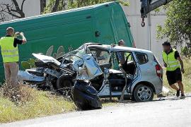 Un hombre y una mujer mueren en Eivissa en un accidente de tráfico