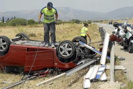 El Consell reclama los daños provocados por los accidentes en las carreteras