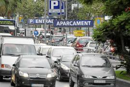 Cada día pasan 1.680 vehículos menos por Avingudes hacia es Fortí
