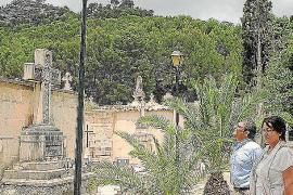La oleada de robos en el cementerio de Andratx obliga  a instalar cámaras
