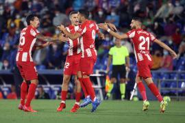 El Atlético de Madrid remonta al Getafe en el último minuto