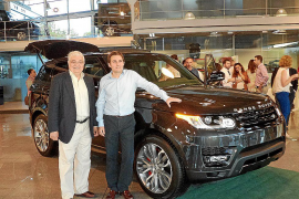 El Range Rover Sport, en Quality Center