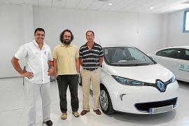 Renault Llucmajor entregó su primer vehículo eléctrico ZOE