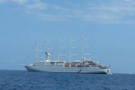 El Port de Sóller recibe el primer crucero turístico de 2013