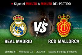 EN DIRECTO | Real Madrid-Real Mallorca