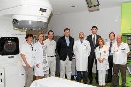 Son Espases aumenta la precisión en las radiaciones de los tumores