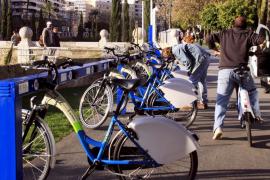 Los usuarios de Bicipalma podrán emplear las bicis hasta las 12 de la noche
