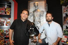 Marcos Cabotá y Toni Bestard  buscan mecenas en Madrid para 'descubrir' a Darth Vader