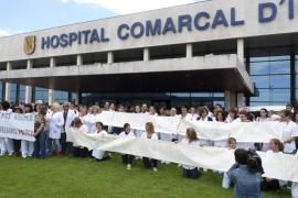 Unos 300 empleados del hospital de Inca firman contra el Govern por el 'caso Alpha Pam'