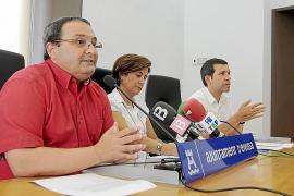 SANTIAGO PIZARRO, LURDES COSTA Y MARC COSTA, MIEMBROS DEL EQUIPO DE GOBIERNO DE VILA.
