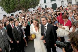 menorca fornells boda hija artur mas presidente de la generalitat de