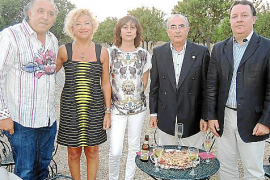 Cena de aniversario del Club Rotario de Inca