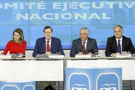 Rajoy y el PP ofrecen una imagen de tranquilidad ante la prisión de Bárcenas