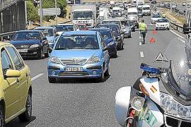 Fallece un motorista en un accidente en la vía de cintura