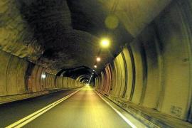 Desprendimientos en el túnel de Sóller obligan a cerrarlo durante cinco noches para repararlo