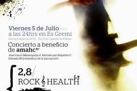 Concierto benéfico a favor de la Asociación de afectados por la hepatitis C en la Sala Es Gremi