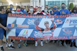 Izan Guevara llega a Palma